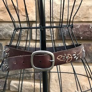 Fossil, leather belt